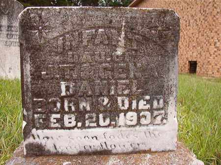 DANIEL, INFANT DAUGHTER - Calhoun County, Arkansas | INFANT DAUGHTER DANIEL - Arkansas Gravestone Photos