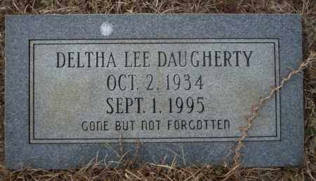 LEE DAUGHERTY, DELTHA - Calhoun County, Arkansas | DELTHA LEE DAUGHERTY - Arkansas Gravestone Photos