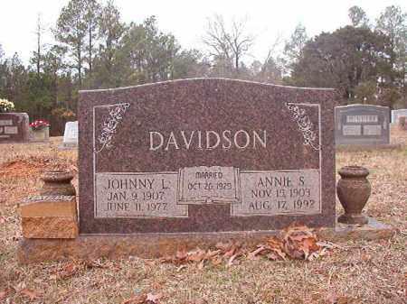 DAVIDSON, ANNIE S - Calhoun County, Arkansas | ANNIE S DAVIDSON - Arkansas Gravestone Photos