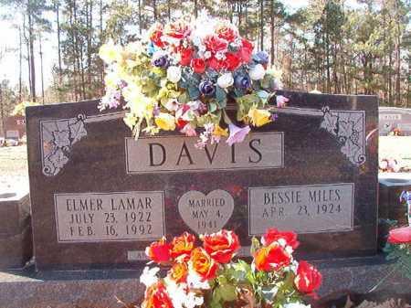DAVIS, ELMER LAMAR - Calhoun County, Arkansas | ELMER LAMAR DAVIS - Arkansas Gravestone Photos