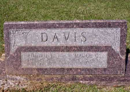 DAVIS, EDFORD T - Calhoun County, Arkansas | EDFORD T DAVIS - Arkansas Gravestone Photos