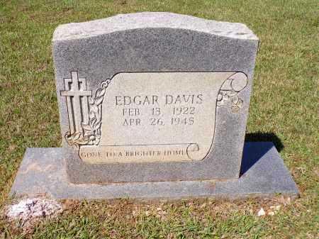 DAVIS, EDGAR - Calhoun County, Arkansas | EDGAR DAVIS - Arkansas Gravestone Photos