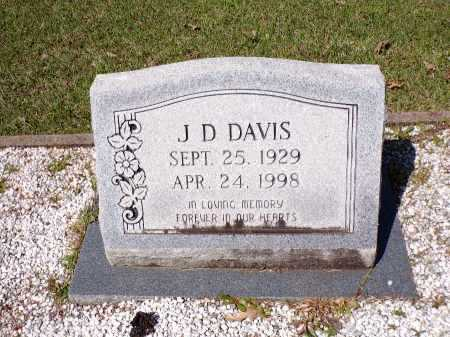 DAVIS, J D - Calhoun County, Arkansas | J D DAVIS - Arkansas Gravestone Photos