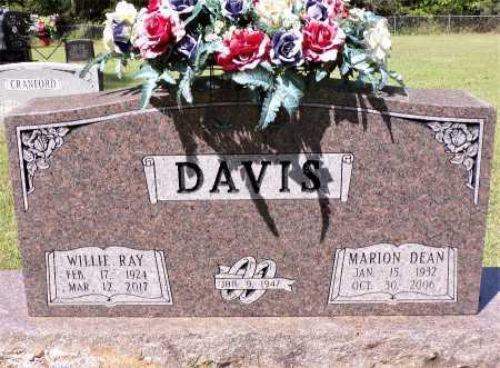 WILLIAMS DAVIS, MARION DEAN - Calhoun County, Arkansas | MARION DEAN WILLIAMS DAVIS - Arkansas Gravestone Photos
