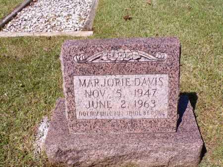 DAVIS, MARJORIE - Calhoun County, Arkansas | MARJORIE DAVIS - Arkansas Gravestone Photos
