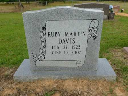 DAVIS, RUBY - Calhoun County, Arkansas | RUBY DAVIS - Arkansas Gravestone Photos