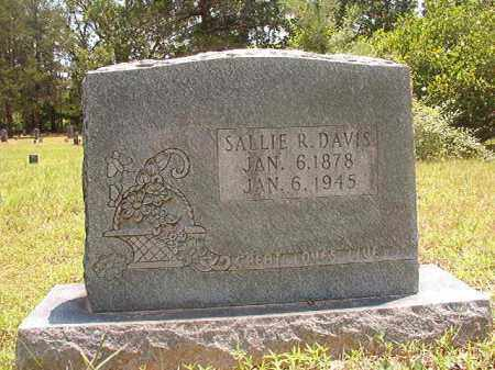 DAVIS, SALLIE R - Calhoun County, Arkansas | SALLIE R DAVIS - Arkansas Gravestone Photos