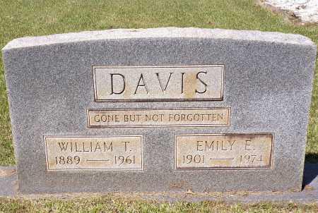 DAVIS, WILLIAM T - Calhoun County, Arkansas | WILLIAM T DAVIS - Arkansas Gravestone Photos