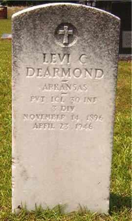DEARMOND (VETERAN), LEVI C - Calhoun County, Arkansas | LEVI C DEARMOND (VETERAN) - Arkansas Gravestone Photos