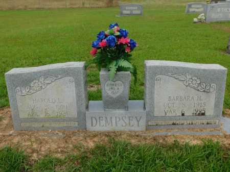 DEMPSEY, BARBARA H - Calhoun County, Arkansas | BARBARA H DEMPSEY - Arkansas Gravestone Photos