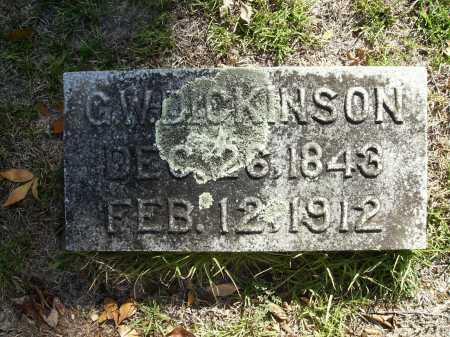 DICKINSON, G W - Calhoun County, Arkansas | G W DICKINSON - Arkansas Gravestone Photos