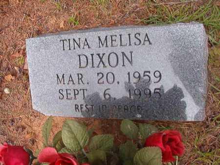 DIXON, TINA MELISA - Calhoun County, Arkansas | TINA MELISA DIXON - Arkansas Gravestone Photos