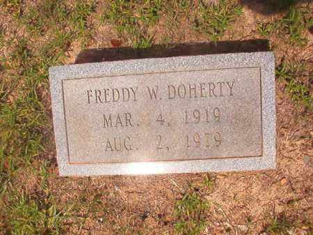 DOHERTY, FREDDY W - Calhoun County, Arkansas | FREDDY W DOHERTY - Arkansas Gravestone Photos
