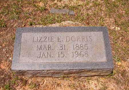 DORRIS, LIZZIE E - Calhoun County, Arkansas | LIZZIE E DORRIS - Arkansas Gravestone Photos
