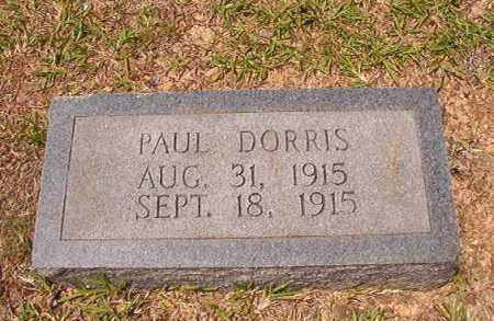 DORRIS, PAUL - Calhoun County, Arkansas | PAUL DORRIS - Arkansas Gravestone Photos