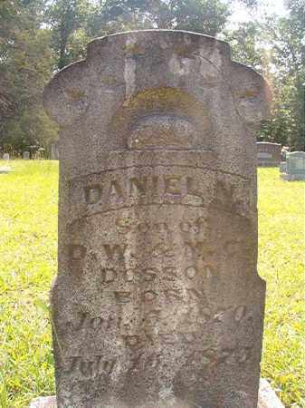 DOSSON, DANIEL N - Calhoun County, Arkansas | DANIEL N DOSSON - Arkansas Gravestone Photos