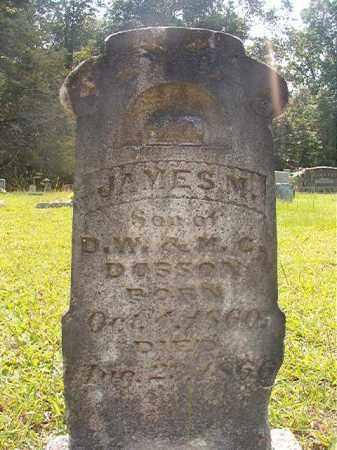 DOSSON, JAMES M - Calhoun County, Arkansas | JAMES M DOSSON - Arkansas Gravestone Photos