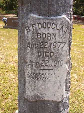 DOUGLAS, B F - Calhoun County, Arkansas | B F DOUGLAS - Arkansas Gravestone Photos