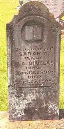 DOUGLAS, SARAH A - Calhoun County, Arkansas | SARAH A DOUGLAS - Arkansas Gravestone Photos