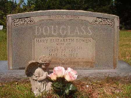 DOUGLASS, MARY ELIZABETH - Calhoun County, Arkansas | MARY ELIZABETH DOUGLASS - Arkansas Gravestone Photos