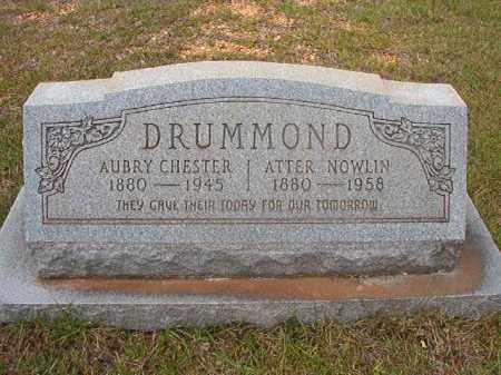 DRUMMOND, ATTER - Calhoun County, Arkansas | ATTER DRUMMOND - Arkansas Gravestone Photos