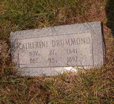 DRUMMOND, CATHERINE - Calhoun County, Arkansas | CATHERINE DRUMMOND - Arkansas Gravestone Photos