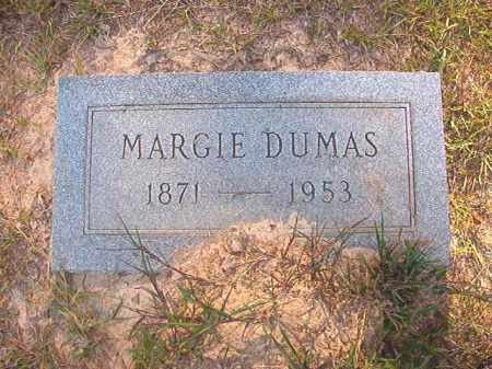 DUMAS, MARGIE - Calhoun County, Arkansas | MARGIE DUMAS - Arkansas Gravestone Photos