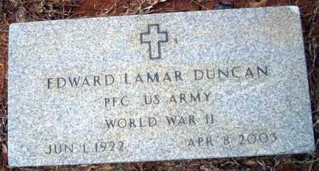 DUNCAN  (VETERAN WWII), EDWARD LAMAR - Calhoun County, Arkansas | EDWARD LAMAR DUNCAN  (VETERAN WWII) - Arkansas Gravestone Photos