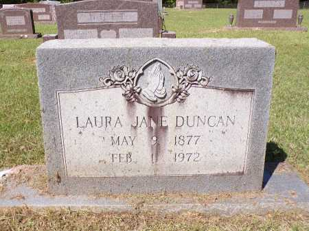 DUNCAN, LAURA JANE - Calhoun County, Arkansas | LAURA JANE DUNCAN - Arkansas Gravestone Photos