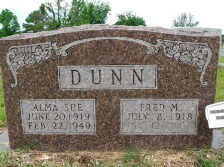 DUNN, FRED M - Calhoun County, Arkansas | FRED M DUNN - Arkansas Gravestone Photos