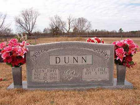 DUNN, ALLEN JERRY - Calhoun County, Arkansas | ALLEN JERRY DUNN - Arkansas Gravestone Photos