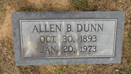DUNN, ALLEN B - Calhoun County, Arkansas | ALLEN B DUNN - Arkansas Gravestone Photos