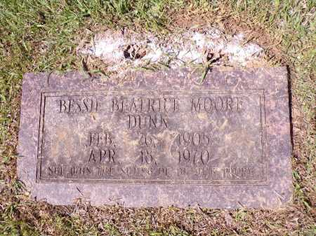 DUNN, BESSIE BEATRICE - Calhoun County, Arkansas | BESSIE BEATRICE DUNN - Arkansas Gravestone Photos