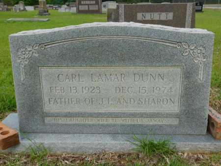 DUNN, CARL LAMAR - Calhoun County, Arkansas | CARL LAMAR DUNN - Arkansas Gravestone Photos