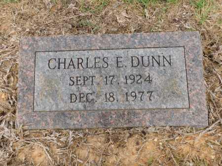 DUNN, CHARLES E - Calhoun County, Arkansas | CHARLES E DUNN - Arkansas Gravestone Photos