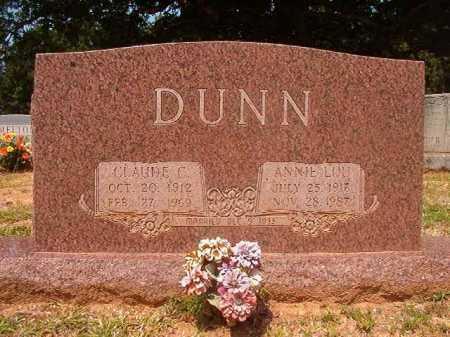 DUNN, ANNIE LOU - Calhoun County, Arkansas | ANNIE LOU DUNN - Arkansas Gravestone Photos