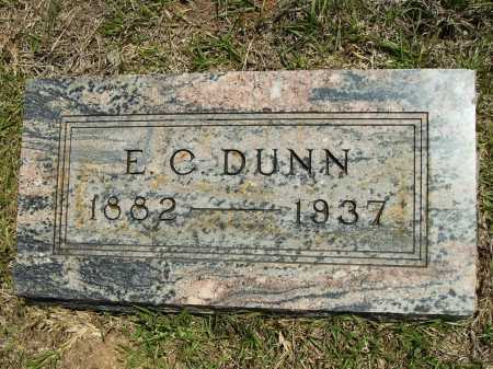 DUNN, E C - Calhoun County, Arkansas | E C DUNN - Arkansas Gravestone Photos