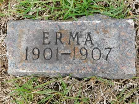 DUNN, ERMA - Calhoun County, Arkansas | ERMA DUNN - Arkansas Gravestone Photos