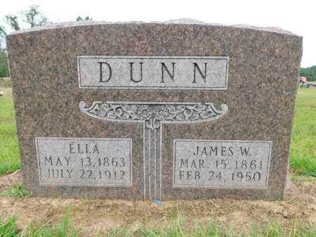 DUNN, ELLA - Calhoun County, Arkansas | ELLA DUNN - Arkansas Gravestone Photos