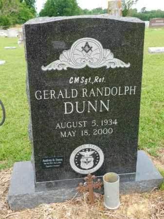DUNN, GERALD RANDOLPH - Calhoun County, Arkansas | GERALD RANDOLPH DUNN - Arkansas Gravestone Photos