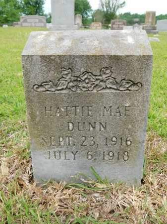 DUNN, HATTIE MAE - Calhoun County, Arkansas | HATTIE MAE DUNN - Arkansas Gravestone Photos