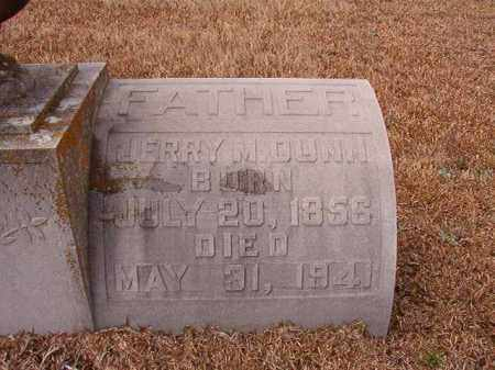 DUNN, JERRY M - Calhoun County, Arkansas | JERRY M DUNN - Arkansas Gravestone Photos