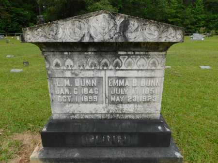 DUNN, EMMA B - Calhoun County, Arkansas | EMMA B DUNN - Arkansas Gravestone Photos