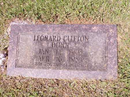 DUNN (OBIT), LEONARD CLIFTON - Calhoun County, Arkansas | LEONARD CLIFTON DUNN (OBIT) - Arkansas Gravestone Photos