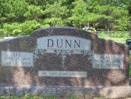 DUNN, PEARLIE - Calhoun County, Arkansas | PEARLIE DUNN - Arkansas Gravestone Photos