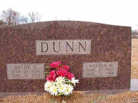 DUNN (OBIT), WATSON HARVEY - Calhoun County, Arkansas | WATSON HARVEY DUNN (OBIT) - Arkansas Gravestone Photos