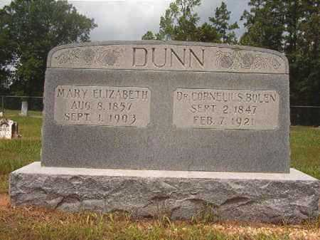DUNN, MARY ELIZABETH - Calhoun County, Arkansas | MARY ELIZABETH DUNN - Arkansas Gravestone Photos