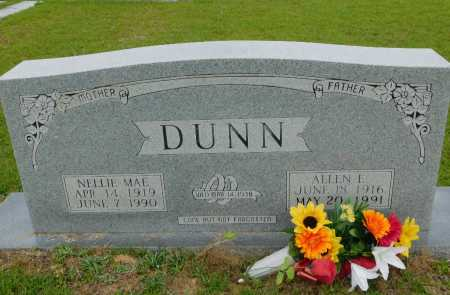 DUNN, ALLEN E - Calhoun County, Arkansas | ALLEN E DUNN - Arkansas Gravestone Photos