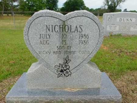 DUNN, NICHOLAS - Calhoun County, Arkansas | NICHOLAS DUNN - Arkansas Gravestone Photos