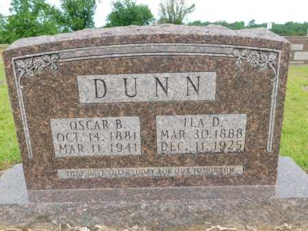 DUNN, ILA D - Calhoun County, Arkansas | ILA D DUNN - Arkansas Gravestone Photos